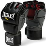 Everlast Train Advanced MMA 7-Ounce Grappling / Training Gloves (Black, Large/X-Large)
