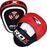 RDX Boxing Target Focus Mitts Hook & Jab Punching Pads MMA Thai Training Strike Kick Shield