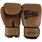 "FAIRTEX ""CLASSIC"" LIMITED EDITION MUAY THAI STYLE TRAINING GLOVES – BGV1-C – BROWN"