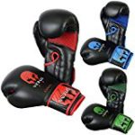 VERUS Boxing Gloves MMA Martial Arts Training Punching Bag Sparring Mitts UFC (Red, 14oz)