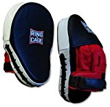Leather Curved Punch Mitts for Boxing, Muay Thai, MMA, Kickboxing, Martial Arts
