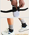 Compression Adjustable Ankle Wrap Strap Belt Brace Support Bandage with tough Velcro Closure for Fitness Training Sports