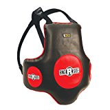 Ringside Gel Shock Super Boxing Muay Thai MMA Training Chest Shield Rib Guard Body Protector