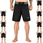 Elite Sports NEW ITEM Black Jack Series Fight Shorts,Gray,Medium